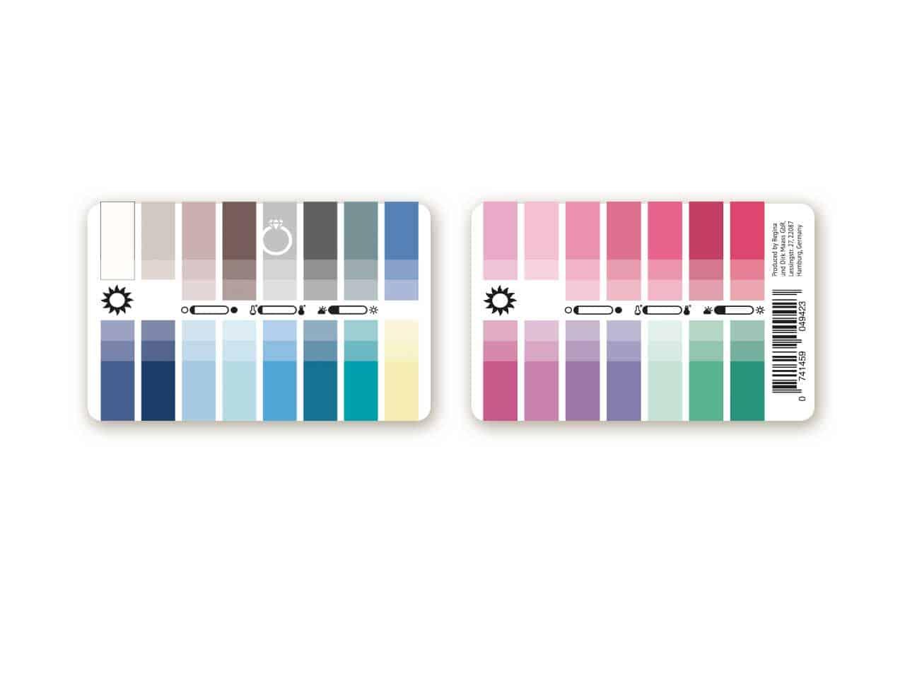 karten farbpass sommer 30 farben f r farbanalyse und farbberatung. Black Bedroom Furniture Sets. Home Design Ideas