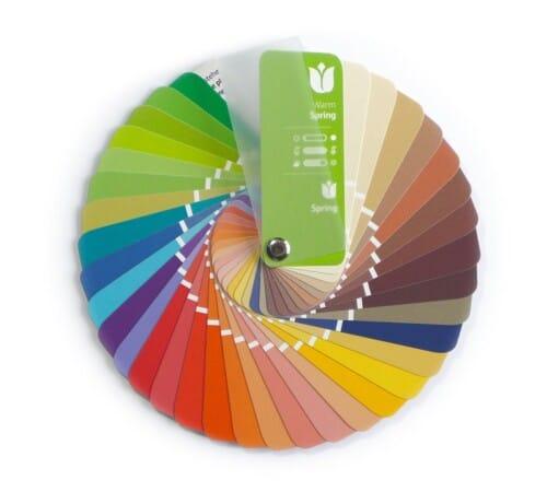Farbpass Farben Frühling Farbtyp