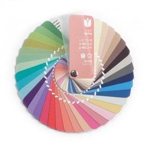 Farbpass Farben Frühling-Sommer Farbtyp