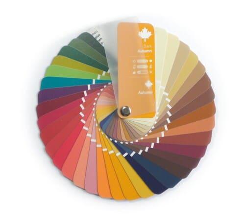 Farbpass Farben Herbst Farbtyp
