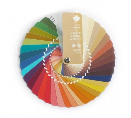 Farbpass Farben Herbst-Frühling Farbtyp Warm Autumn