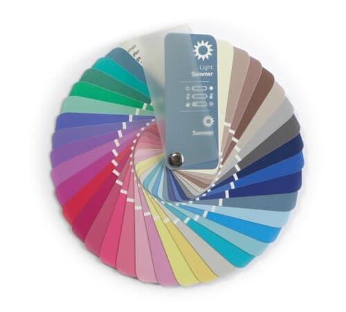 Farbpass Farben Sommer Farbtyp