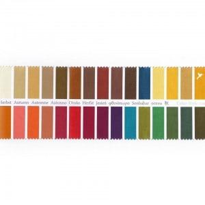Stoff-Farbpass Herbst