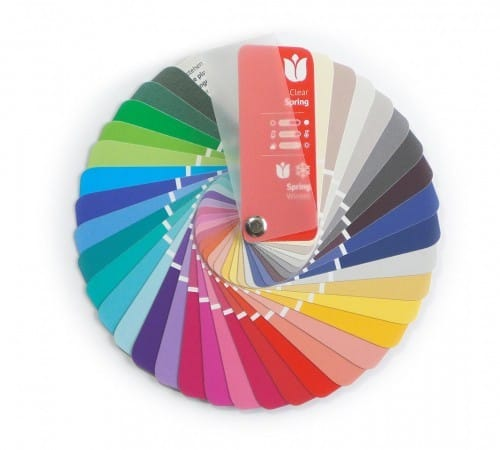 Farbpass Farben Frühling-Winter Farbtyp
