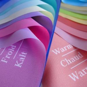 Analyse Tuchset Beschriftung für Farb- und Stilberatung