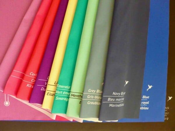 Analyse-Tuchset kalt für Farb- und Stilberatung