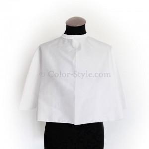Umhang für Farbberatung weiß