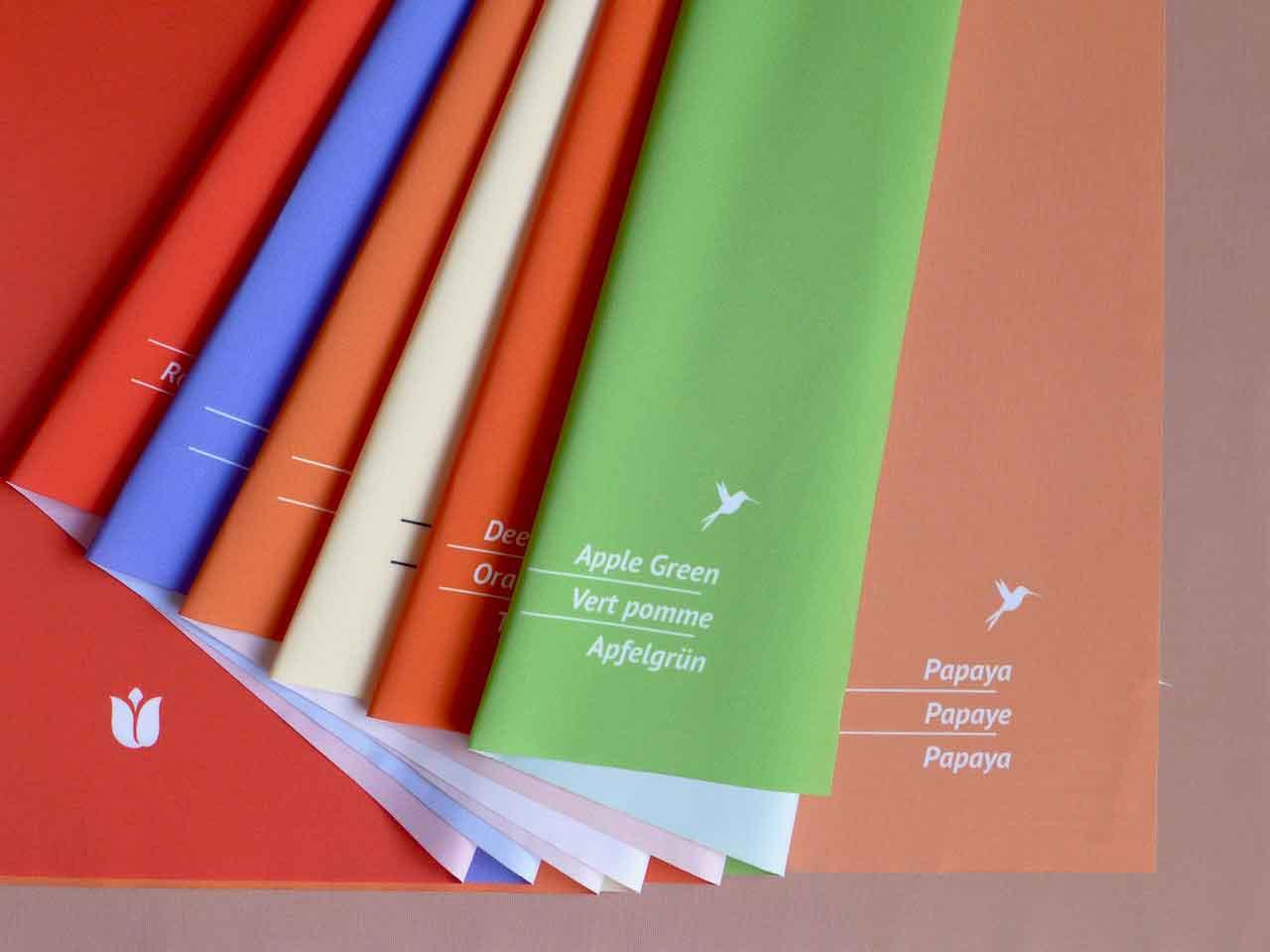 Analysetücher Finaltücher Frühling Sommer Herbst Winter für Farb- und Stilberatung