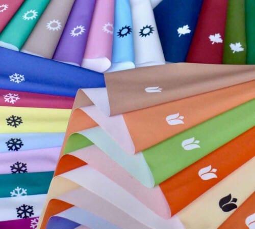 Finaltücher Frühling Sommer Herbst Winter für Farb- und Stilberatung