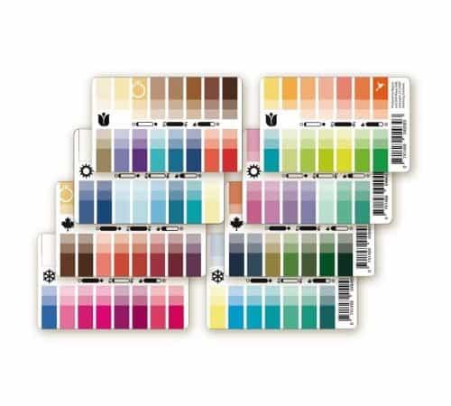 Karten-Farbpässe