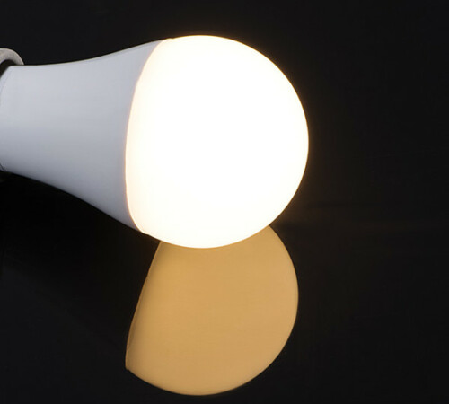 Led-Lampe warmweiß