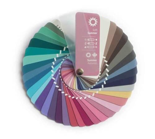 Farbpass Farben Sommer-Herbst Farbtyp Soft Summer