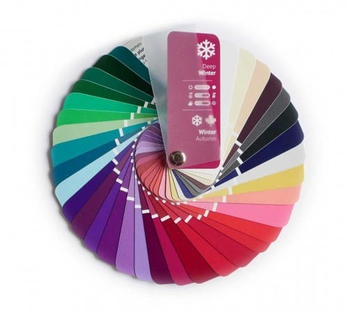 Farbpass Farben Winter-Herbst Farbtyp Deep Winter