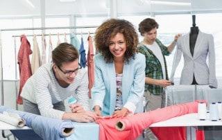 Berufsausbildung an Modeschule